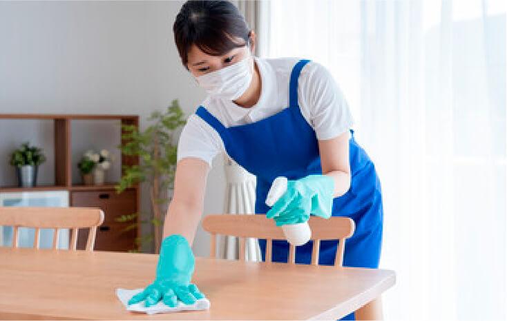 お掃除のプロが伺います!